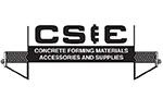 C S & E logo