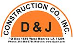 D & J Construction logo