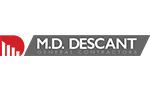 M D Descant logo
